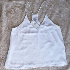 White Dressy Tank